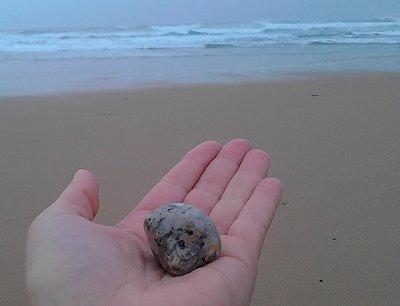 Meditação com jaspe oceânico, a transformação
